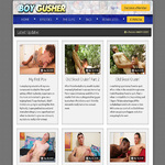 Boy Gusher With AOL Account