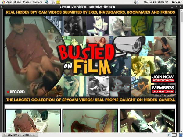 Bustedonfilm.com Membership Discount