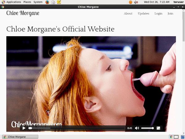 Chloe Morgane Dvd