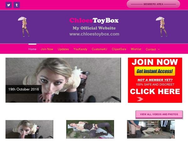 Chloestoybox.com Bankeinzug
