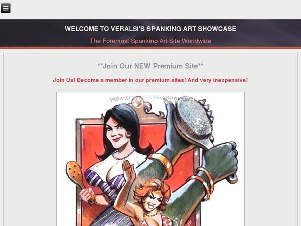 Free Premium Veralsis Spanking Art