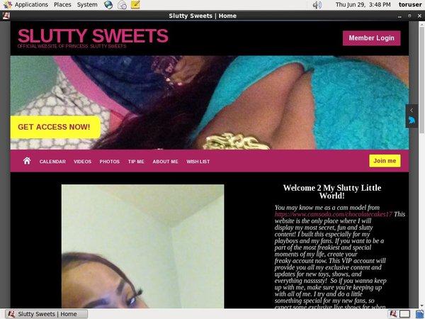 Free Slutty Sweets Id