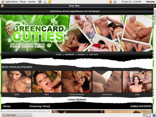 Green Card Cuties Discount Promo