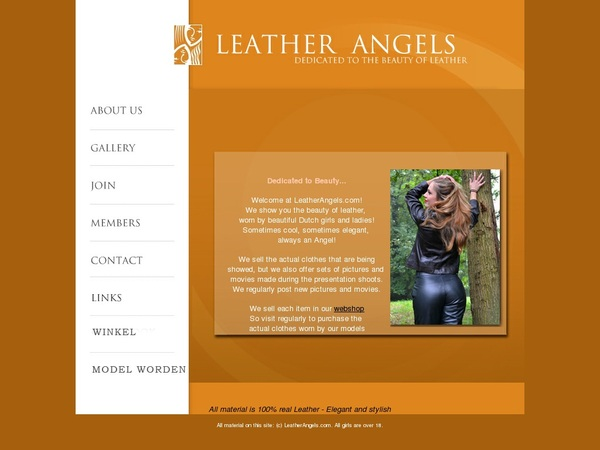 Joining Leatherangels.com