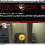 Sneakypeek.net Signup Form