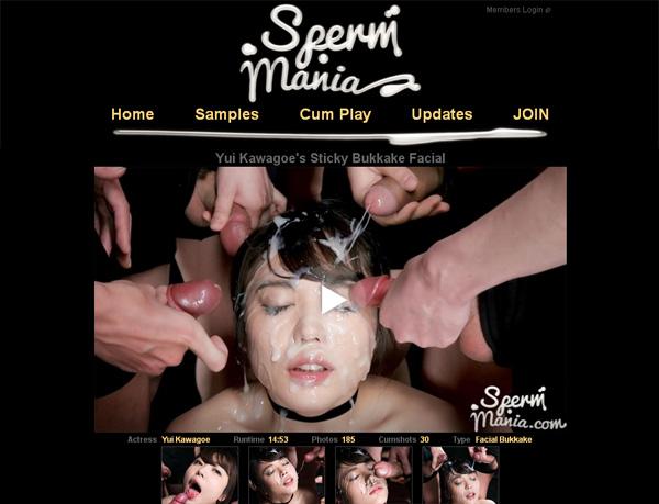 Sperm Mania With Direct Debit