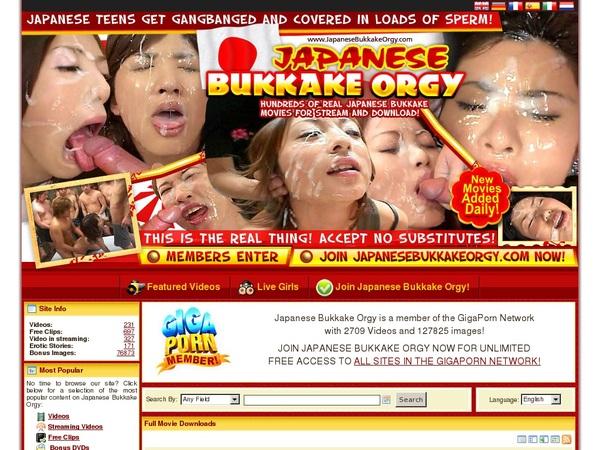Get Free Japanese Bukkake Orgy Membership