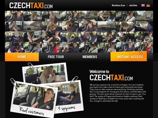 Free Czechtaxi Membership Account