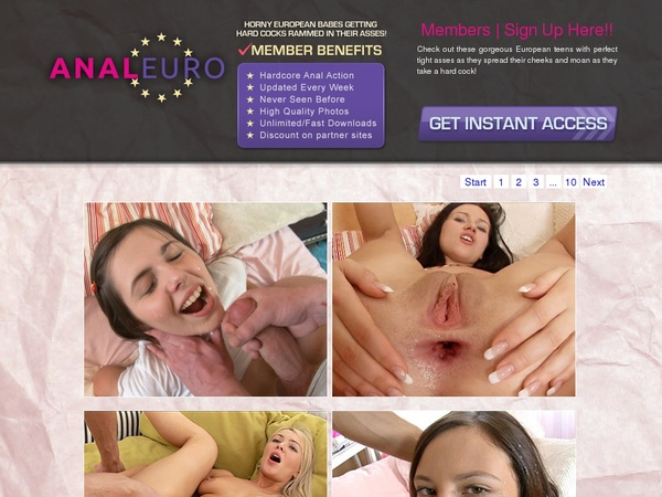 Discount Euro Anal Free Trial