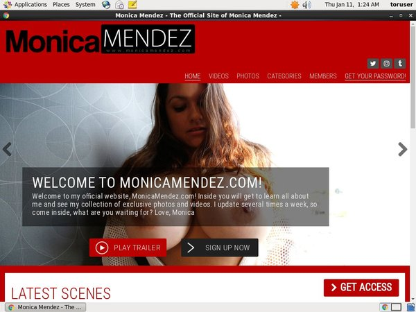Free Monica Mendez Access