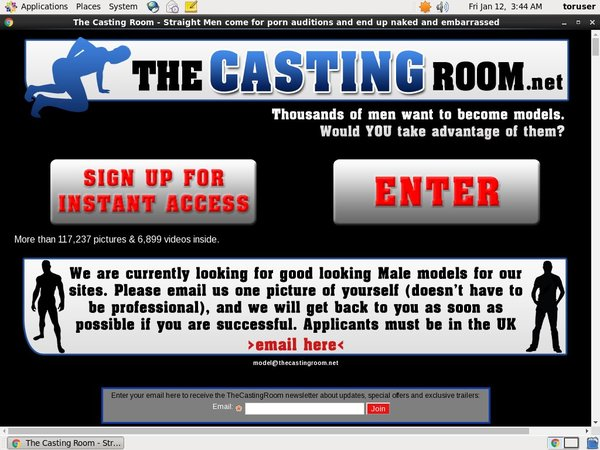 Thecastingroom.net Discount Coupon