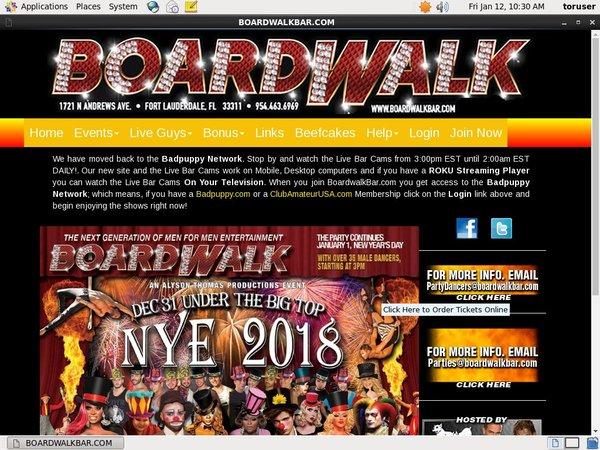 Boardwalk Bar Discount Special