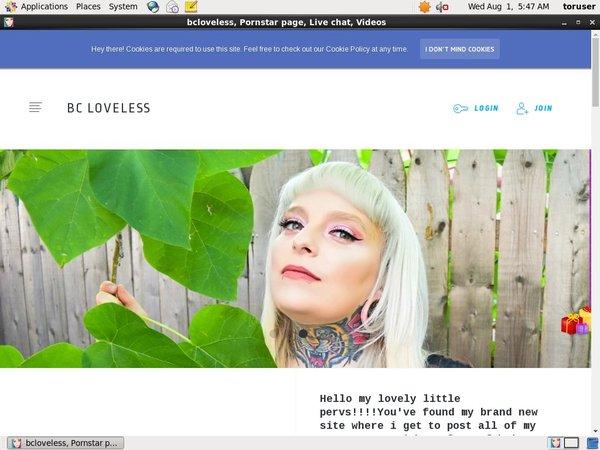 Bcloveless.com Coupon Deal