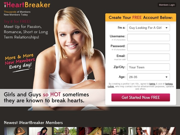 Iheartbreaker With Credit Card