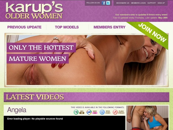 Karups OW Sign Up