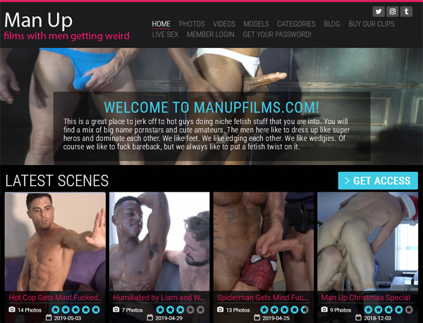 Man Up Films Free Trial Account
