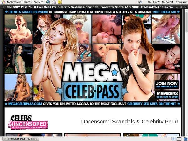 Megacelebpass Network Login