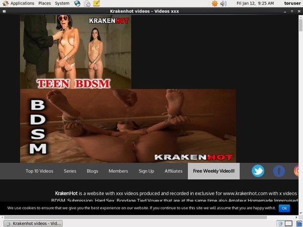 Krakenhot.com Full Free
