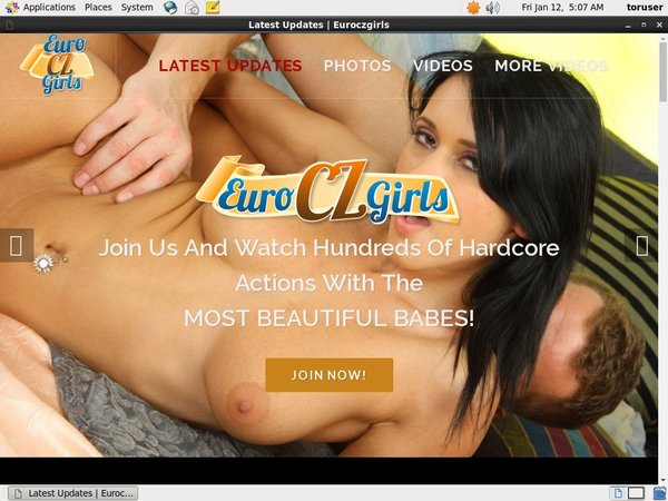 Free Account On Euro Czech Girls