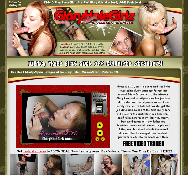 Gloryholegirlz.com Free Sign Up