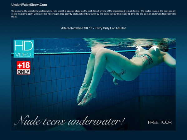 Underwater Show Receive Discount