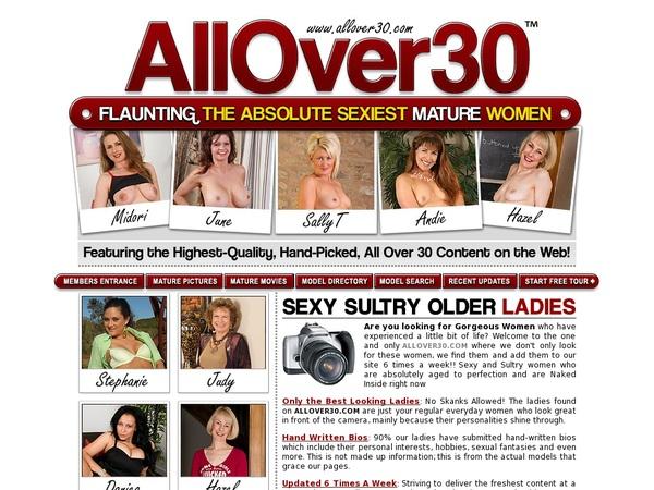 Allover30.com Limited Time Offer