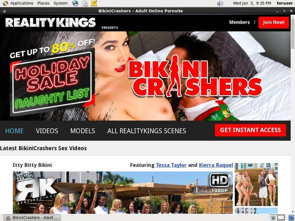 Bikinicrashers Paysite