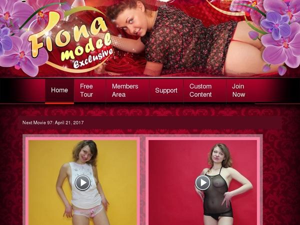 Fiona-model.com Member Login