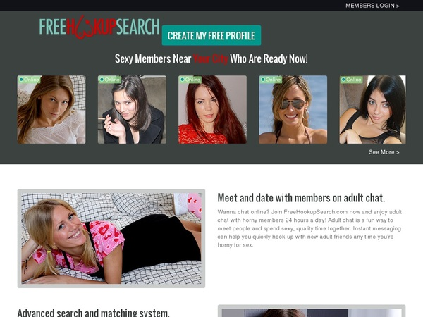 Free Hookup Search Deals