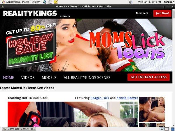 Momslickteens.com Free Trial Tour
