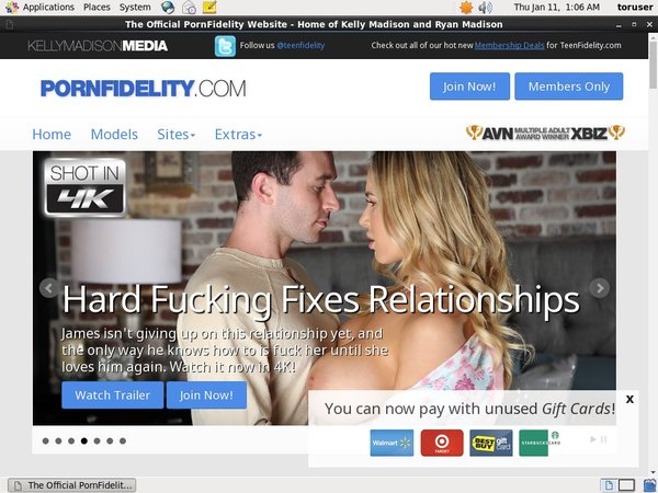 Pornfidelity.com Kennwort