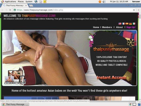 Logins For Thai Pussy Massage
