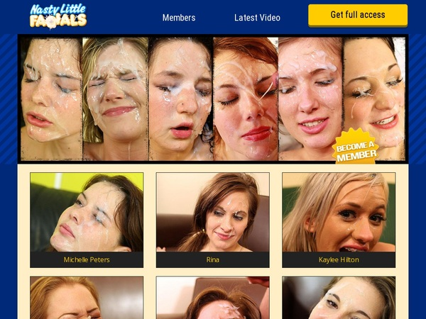 Nasty Little Facials Discount Page