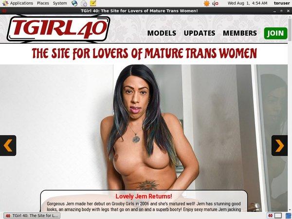 Tgirl40.com Premium