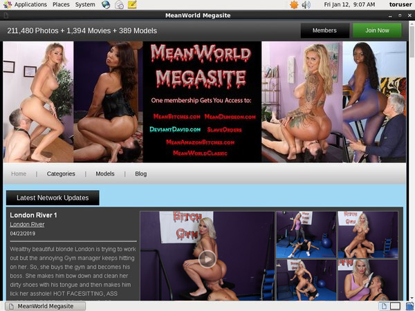 Meanworld.com Hack Account