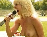 Nudenews.com news anchorwoman