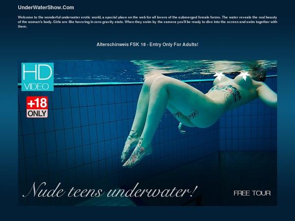Show Underwater Deal