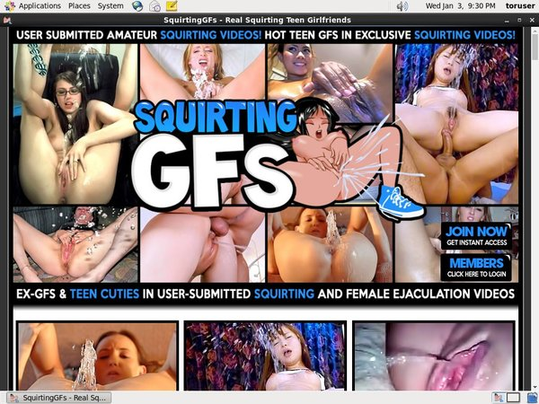 Sign Up Squirting GFs
