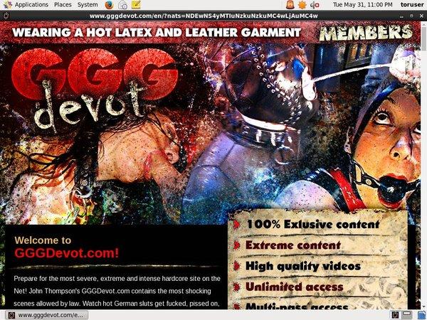 GGG Devot Discount Free Trial