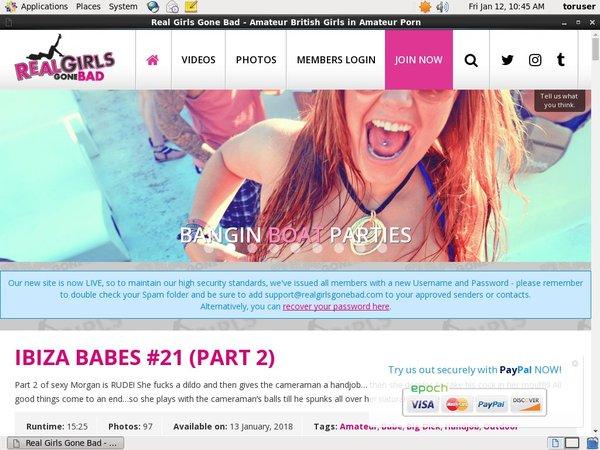 Realgirlsgonebad.com Paypal Signup