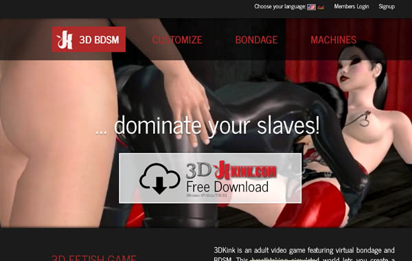 3D Kink Full Website