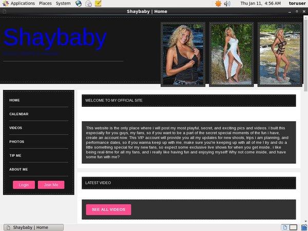 Free Shaybaby Premium Accounts