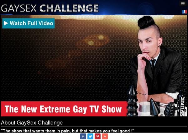 Gay Sex Challenge Betalen