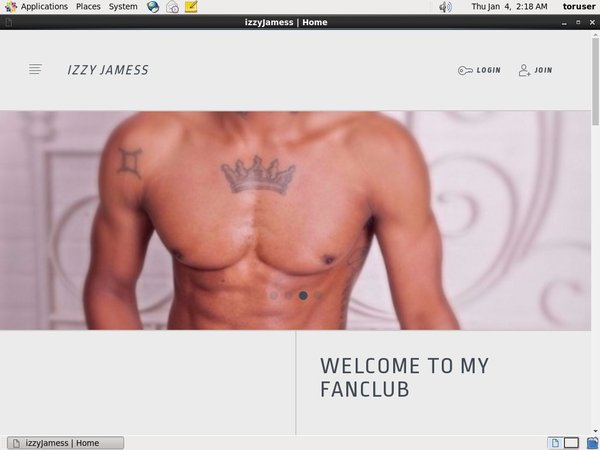 Jamess Izzy Membership Trial