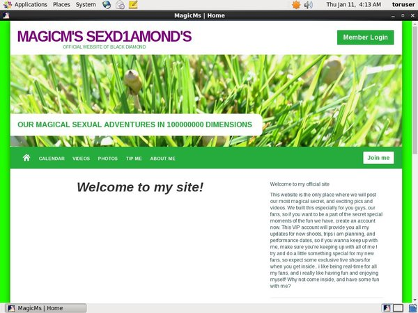 MagicM's SexD1amond's Working Accounts