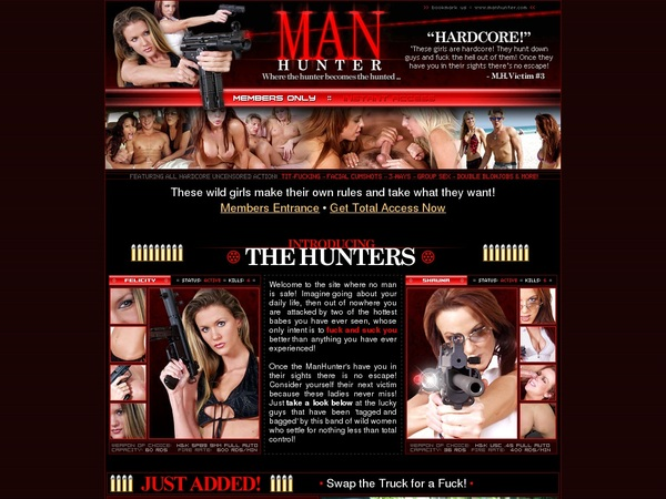 Manhunter Account Login