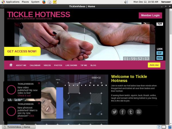TICKLE HOTNESS Limited Promo