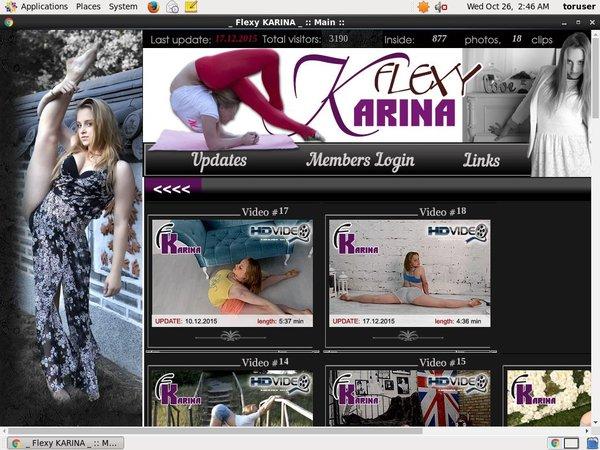 Premium Flexy Karina Accounts Free