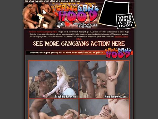 Gangbanghood Trial Sign Up
